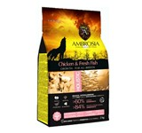 AMBROSIA GRAIN-FREE DOG GROWTH CHICKEN & FISH 2Kg.
