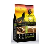AMBROSIA GRAIN FREE SENIOR LIGHT STERILIZED TURKEY & SALMON 2Kg