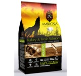 AMBROSIA GRAIN FREE SENIOR LIGHT STERILIZED TURKEY & SALMON 12Kg