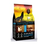 AMBROSIA GRAIN FREE DOG ADULT FRESH TROUT & DUCK 2Kg