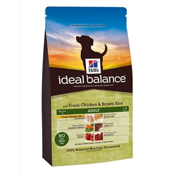 HILL'S IB DOG ADULT CHICKEN & BROWN RICE 12KG