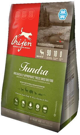 ORIJEN TUNDRA 454gr FREEZE DRIED