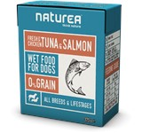 NATUREA FRESH CHICKEN TUNA SALMON 12 X 375gr