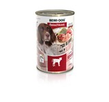BEWI DOG MEAT SELECTION ΠΑΤΕ ΒΟΔΙΝΟ 6Χ400GR