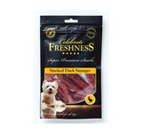 CELEBRATE GRAIN FREE SMOKED DUCK SAUSAGES 100GR