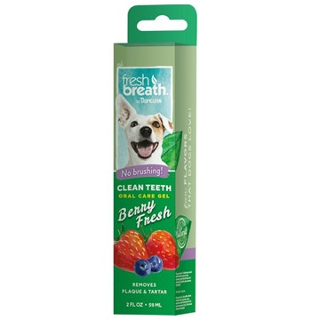 TROPICLEAN CLEAN TEETH GEL BERRY FRESH 59gr
