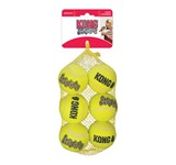 KONG SQUEAKAIR TENNIS BALL MD 6pc