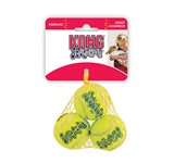 KONG AIR SQUEAKER TENNIS XS 3pc