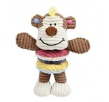 EUROPET DOG TOY MONKEY PLAY WITH SQUEAK 16X19CM ..
