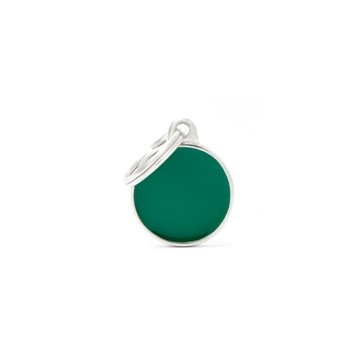 ΤΑΥΤΟΤΗΤΑ BASIC HANDMADE SMALL CIRCLE GREEN