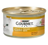GOURMET GOLD MOUS ADULT 24 Χ 85gr ΣΥΚΩΤΙ (20+4ΔΩΡΟ)