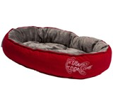 ΚΡΕΒΑΤΙ ΓΑΤΑΣ ROGZ SNUG 40x32x8 RED FISHBONE