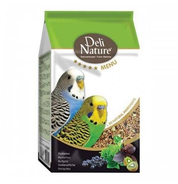DELI NATURE 5* BUDGIES 800GR